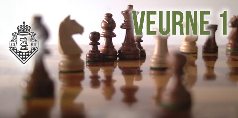Ronde 6 IC N4D: Bredene 1 – Veurne 1:      2,5 – 1,5