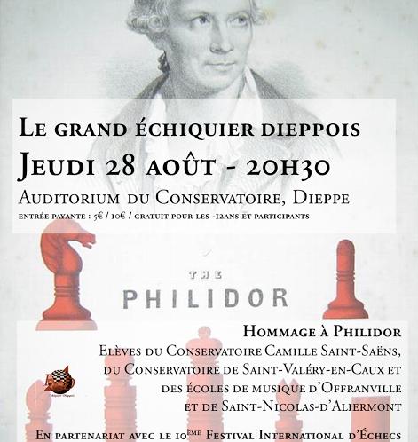 L'Open de Dieppe … excellente combinaison d'échecs et vacances à la mer!